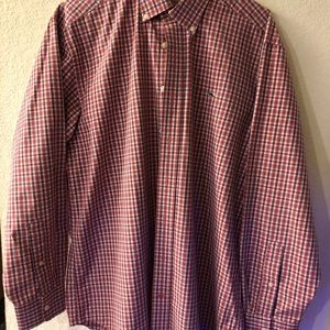 Men's Vineyard Vines long sleeved dress shirt..Lg